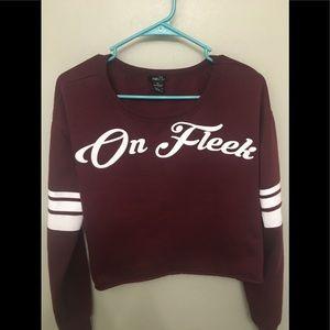 """""""On Fleek"""" Rue21 cropped sweater ❤️"""